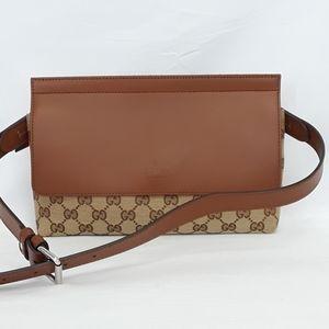 GUCCI 353402 Guccissima Belt Pocket Fanny Pack Bag